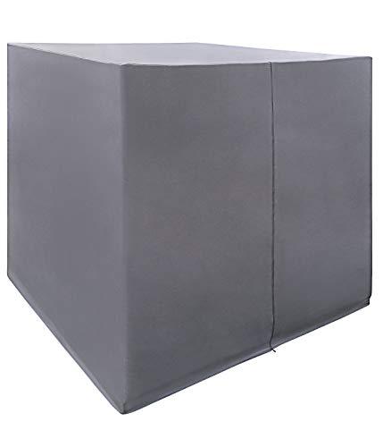 Dehner Schutzhülle für Daybed Daydream, ca. 210 x 200 x 170 cm, Polyester, grau