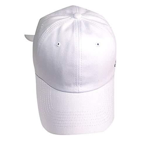 Gorra de béisbol unisex Leedy, ajustable, retro, monocromática, para el tiempo libre, de algodón, para escribir al aire libre, para hombres y mujeres