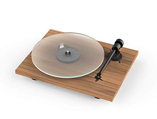 Pro-Ject T1 New Audiophile Hi-Fi Turntable with OM 5E Elliptical Moving...