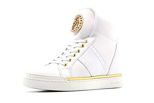 GUESS zapatos de mujer zapatillas con cuña interna FL5FREELE12 BLANCO talla 40 Color blanco