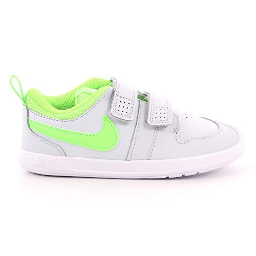 Nike Pico 5 Zapatillas de Gimnasia Unisex - Niños Gris Size: 19.5 EU
