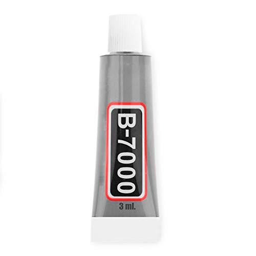 OcioDual Pegamento Universal Adhesivo B-7000 3 ml para Pegar Pantalla LCD Tactil Moviles Tablets Industrial Joyas Ceramica DIY