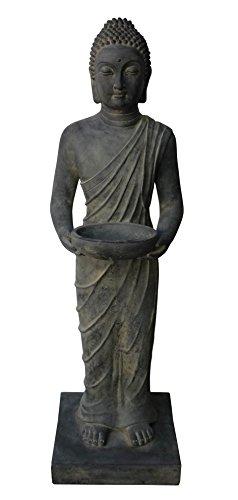 Stone-Lite Drop 735z Buddha stehend bestellen, Verpackung Statue, schwarz, 29x 28x 100cm