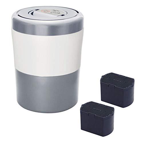 脱臭フィルターセット島産業 家庭用生ごみ減量乾燥機 「パリパリキューブライトアルファ」PCL-33-GSW グレイッシュシルバー&脱臭フィルターセット