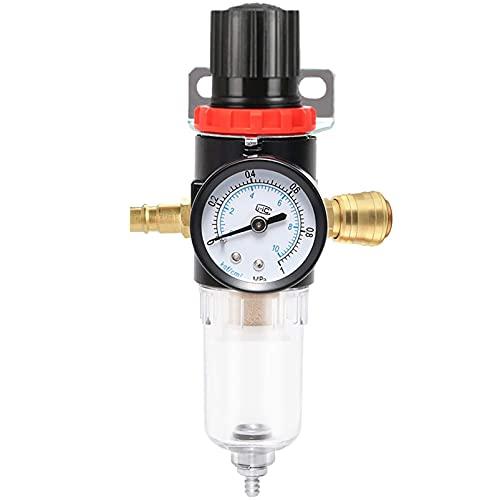 Wasserabscheider,Druckregler Pneumatische,Kompressor druckregler,Druckluft Für Kompressor,Druckluft,Druckminderer mit Manometer,Druckluft mit Manometer,Druckminderer,Druckluft-Wasserabscheider (B)