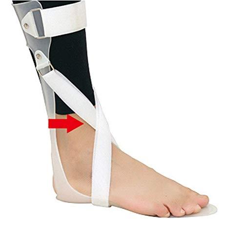 BGSFF Unterstützung der Knöchelfußorthese, trimmbare Fußplatte in voller Länge, ideal bei schlaffen Fußnervenverletzungen, mit Kohlefaserverbundwerkstoff für Fallfuß