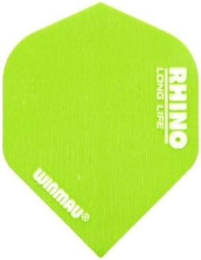 Winmau Rhino National Flags Dart Flights Tough 1-10 Sets Thick Standard Shape