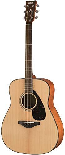 Yamaha FG800M Westerngitarre matt natur - Akustische Westerngitarre mit authentischem Klang - Anfängergitarre für Erwachsene & Jugendliche - 4/4 Gitarre aus Holz