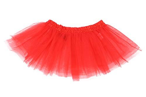 TH-MP Falda de ballet para hombre, falda de ballet, disfraz para hombre, color rojo