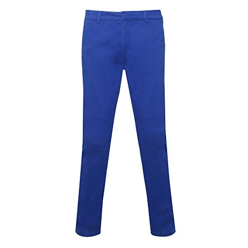 Asquith & Fox Damen Women's Chino Hose, Blau (Royal 000), 42 (Herstellergröße: X-Large)