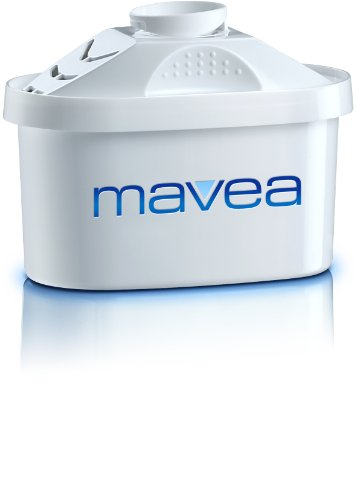 MAVEA Maxtra Replacement Filter for MAVEA Water Filtration Pitcher, 1-Pack, White