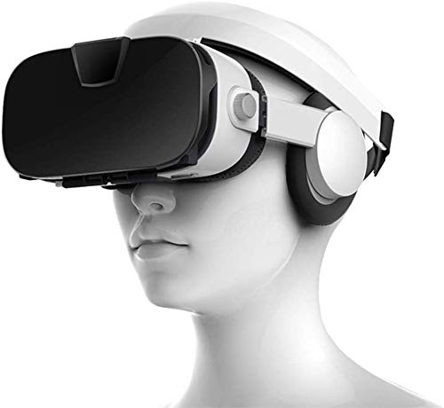 Great Features Of CHENGL 3D VR Headset, Stereo Video 3D Glasses VR Headset Virtual Reality Smartphon...