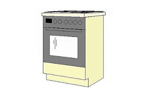 Küchen-Preisbombe Herdunterschrank passend für das Modell,Sydney 310 Ahorn Natur'