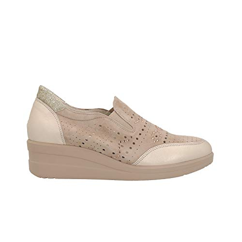 Melluso Sneakers Zeppa Corda Scarpe Donna R20133 38