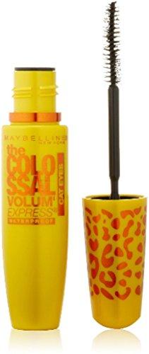 Maybelline Volum' Express Colossal Cat Eyes Waterproof Mascara, Glam Black [241] (Pack of 2)