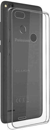 Treecase Transparent Soft Silicone Back Case Cover for Panasonic Eluga I7, Panasonic Eluga I7 Back Cover
