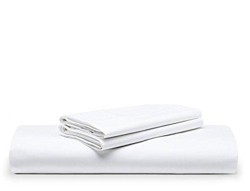 The White Basics - Cadaques - Juego de Funda Nordica Percal 200 Hilos 100% Algodon Peinado Cama 150 cm y 160 cm.