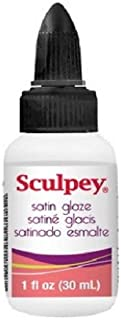Polyform Sculpey Glaze, 1-Ounce, Satin (Limited Edition)