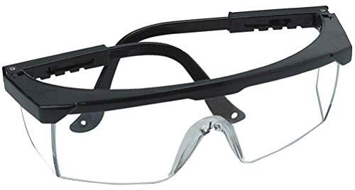 Gafas de protección plegables para gafas, patillas ajustables, protección ocular con protección lateral, gafas de trabajo profesionales para obras, talleres, laboratorios