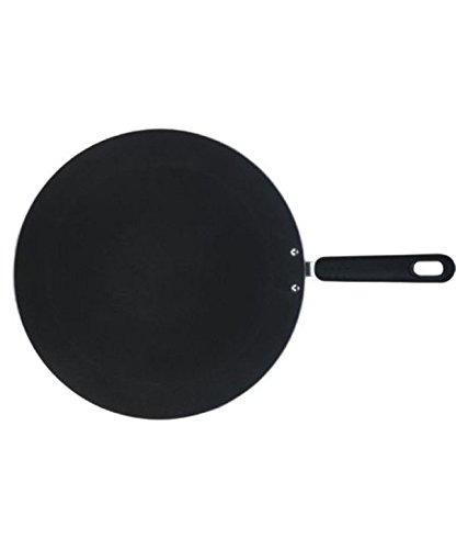 Nirali Classic Plus Nonstick Concave Tawa Mark 2, 275mm, Black