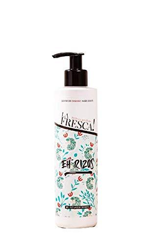 Gel fijador térmico Eh Rizos aporta brillo y movimiento. Con extractos ecológicos, naturales y veganos. - 250 ml.