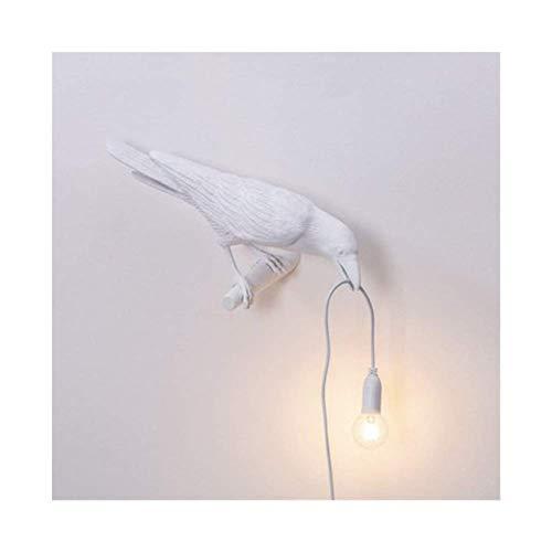 Gertok White Left Wall Light