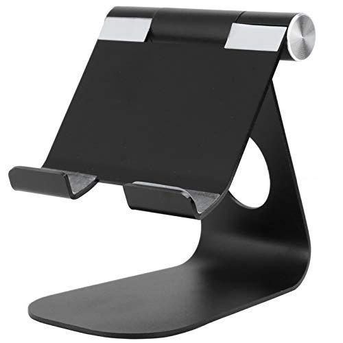 GUSTAR Soporte para teléfono, Soporte Plegable Ajustable para teléfono de Escritorio, para móvil para Tableta(Black)