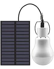 Zonne-gloeilampen, Solar Lights Outdoor Tuin, Solar LED Lamp, Lichtsensor Draagbare USB Opladen Lamp, voor Indoor en Outdoor Tuin Tent Camping Wandelen Vissen Verlichting