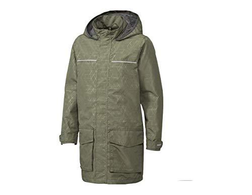 Crivit Mädchen Regenjacke Übergangsjacke Jacke spring jacket transitional jacket Atmungsaktiv Winddicht und wasserdicht Navy Blau (158) (146)