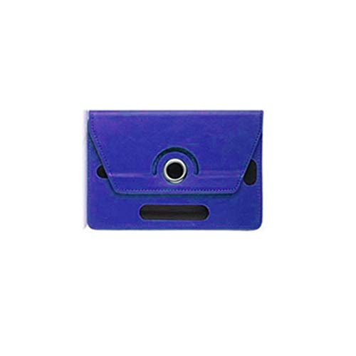 7 Inch 8 9 Inch 10 Inch Tablet Computer Case Three Hole Universal Leather Case(Dark Blue 7inches)