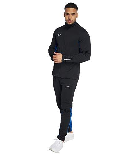 Under Armour Hombre Challenger II Knit calentamiento Set, hombre, color negro, tamaño medium
