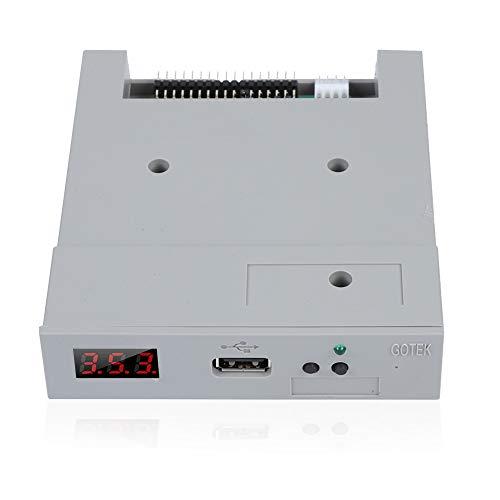 Tonysa 3.5Zoll USB SSD Diskettenlaufwerk Emulator, SSD Floppy Drive Emulator für industrielle Steuergeräte/1.44 MB Diskettenlaufwerke mit hohem Datenschutz/Plug and Play