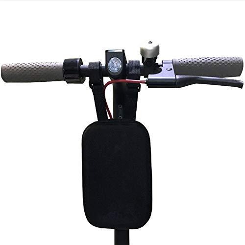 FJL Almacenamiento Strawman Handle Bag para Xiaomi MIJIA M365 Ninebot ES1 ES2 Scooter Antideslizante Bolsas de Cuero y alforjas para Moto