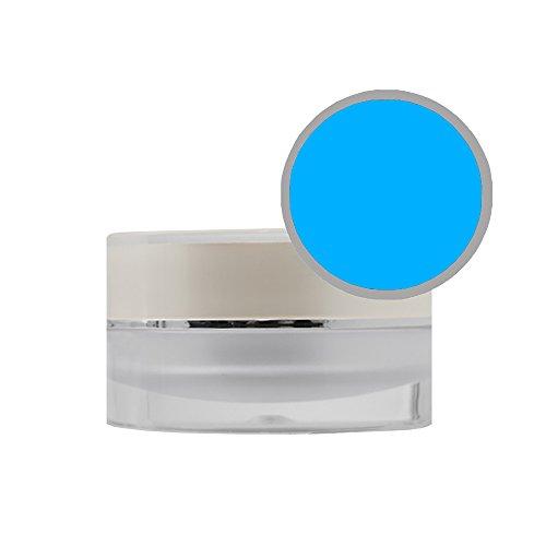 Poudre Acrylique de Couleur Bleu Fluo proimpressions