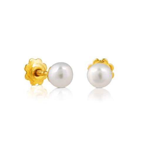 Pendientes Baby TOUS de Oro y perlas
