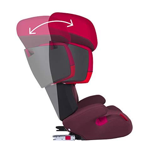 CYBEX Silver Siège Auto Solution X-Fix, Adapté aux Voitures Avec ou Sans Isofix, Groupes 2/3 (15-36 kg), De 3 Ans à 12 Ans Environ, Pure Black