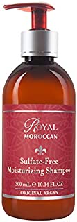 Royal Moroccan Sulfate-Free moisturizing Shampoo (300 ml) Base of Moroccan Argan Oil, For color – Treated Hair.
