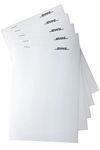 100 St A5 - Original DHL Versandetiketten selbstklebend Paketschein 910-300-700
