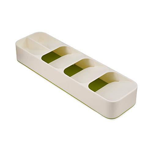 Joseph Joseph DrawerStore - Kompakter Besteckkasten - weiß/grün