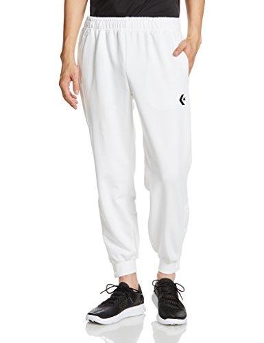 [コンバース] バスケットボール パンツ (裾ボタン) CB141204 メンズ ホワイト 日本 S (日本サイズS相当)