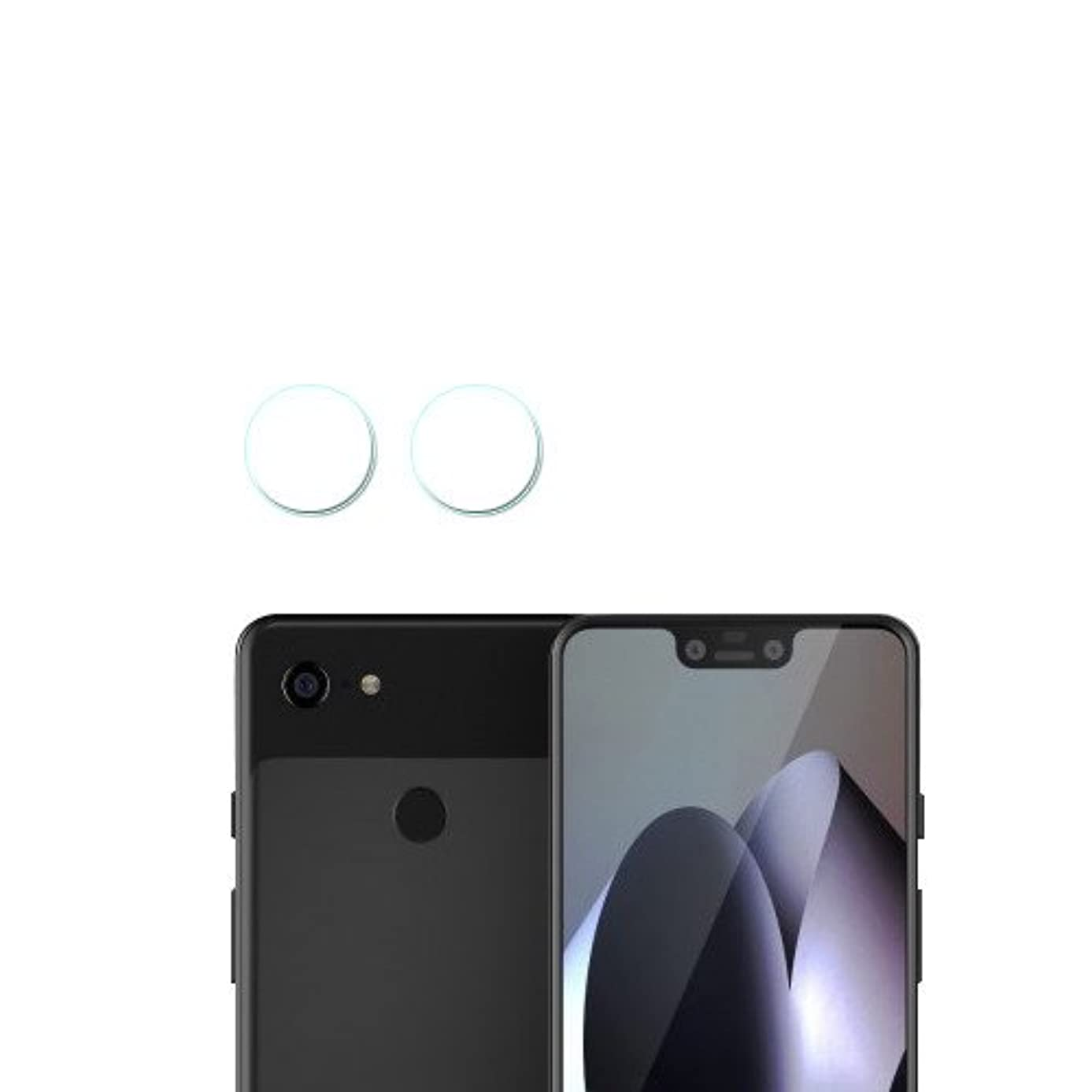 Glass Lens Cover Camera Glass Protector for Google Pixel 3 XL