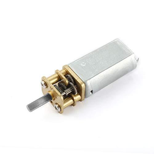 X-DREE Riduttore mini motore DC 6V 20RPM Micro Speed Reduction con 2 terminali per motore di auto RC modello di motore giocattolo fai da te(DC 6V 20RPM Micro Reductor de Velocidad Mini Caja de Engra