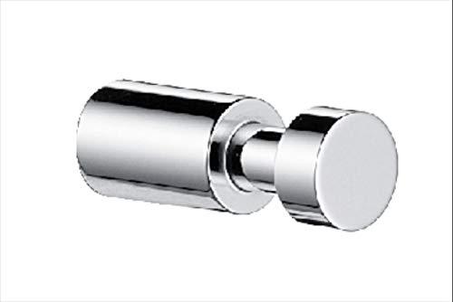 Emco System 2 Handtuchhaken, chrom, Handtuchhalter, zur Wandmontage, Badhaken, Gäste-WC, Länge 45 mm - 357500101