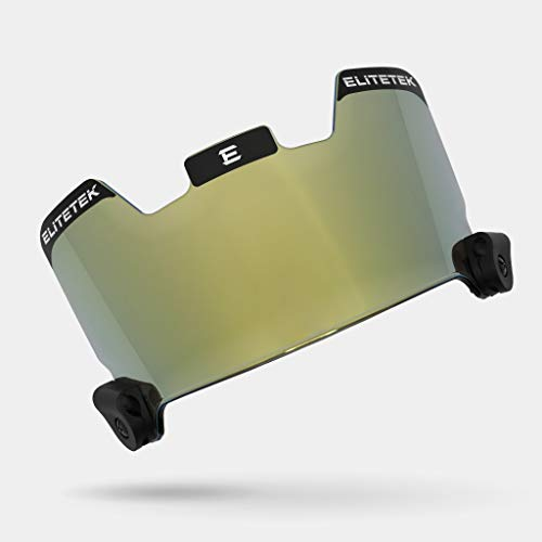 Football Eye-shield Visor Shields Eyes from Finger Pokes Particles /& Objects