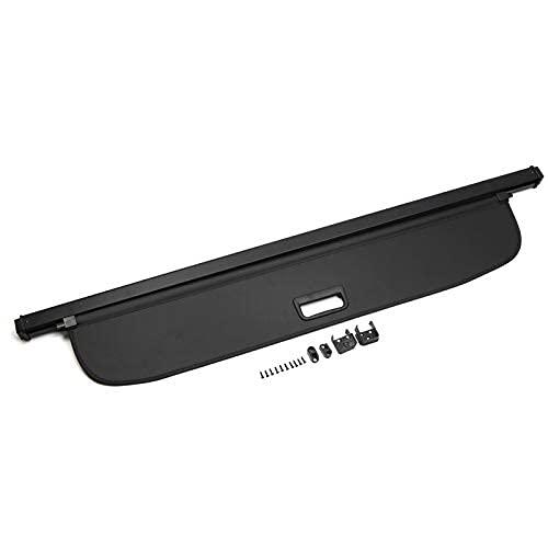 Noir étagère colis Confidentialité Coffre arrière/protection Cargo 7-pass pour accessoire Auto Piercing