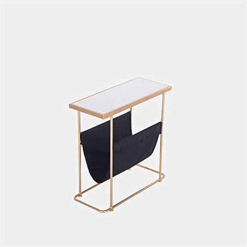 Multifunctionele Magazine Rack, met opbergtas Beperk rechthoekige salontafel huis slaapkamer Book Room Desk Bookshelf (Color : A, Size : 60 * 25 * 55CM)