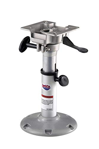 Attwood 2385400 Swivl-Eze Adjustable-Height Boat Seat Pedestal 14-Inch to 20-Inch