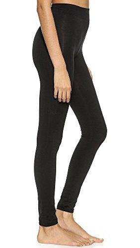Wolford Damen Leggings (LW) Velvet Sensation Leggings, 15 DEN,black,Medium (M)