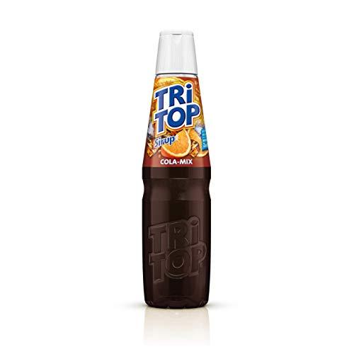 TRI TOP Orange-Cola-Mix | Sirup | kalorienarm, wenig Zucker, für Wassersprudler geeignet  | 1 x 600ml