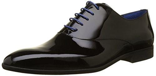 AZZARO ROSINO, Zapatos de Cordones Oxford para Hombre, Negro (Noir 02), 43 EU